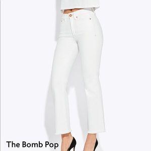 NWOT AYR The Bomb Pop White Jeans